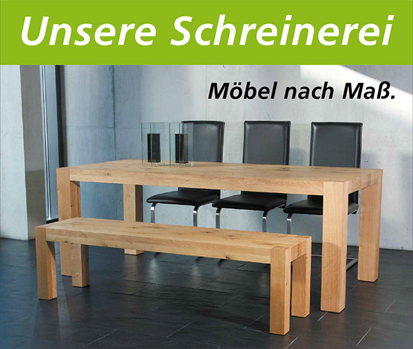 services gauss m bel aus massivholz esstische st hle b nke betten stuttgart. Black Bedroom Furniture Sets. Home Design Ideas